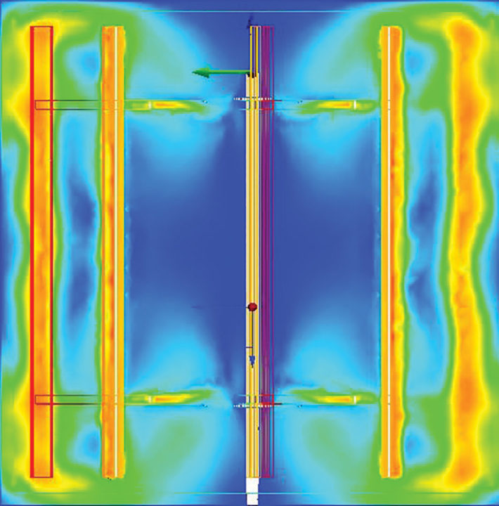 JMS Mega-FLOC (Vertical Paddle Wheel Flocculator) CFD Testing