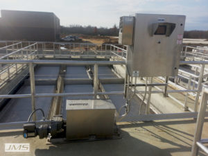 JMS Mega-VAC Hoseless Sludge Removal System Broken Arrow, OK