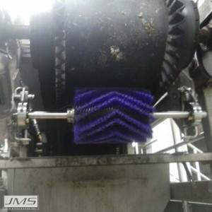 Bio-BELT (Belt Conveyor System) Brush Cleaner