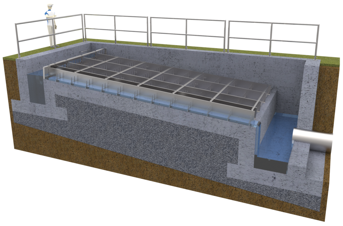 JMS Eco-AIR (Low Profile Cascade Aerator) 3d model