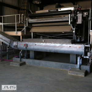 JMS Bio-SCREW (Screw Conveyor system) end to end screw conveyor