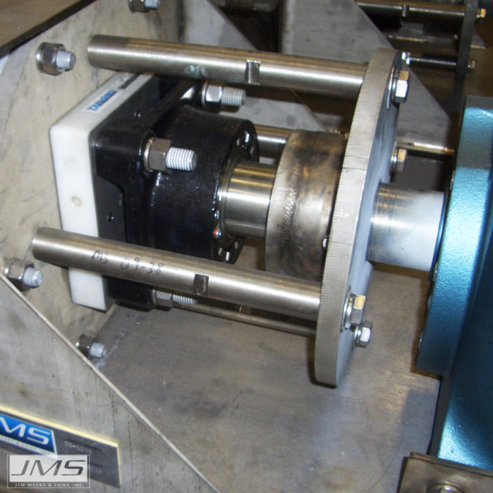 JMS Delta-COMPACTOR (screening compactor) radial thrust bearing