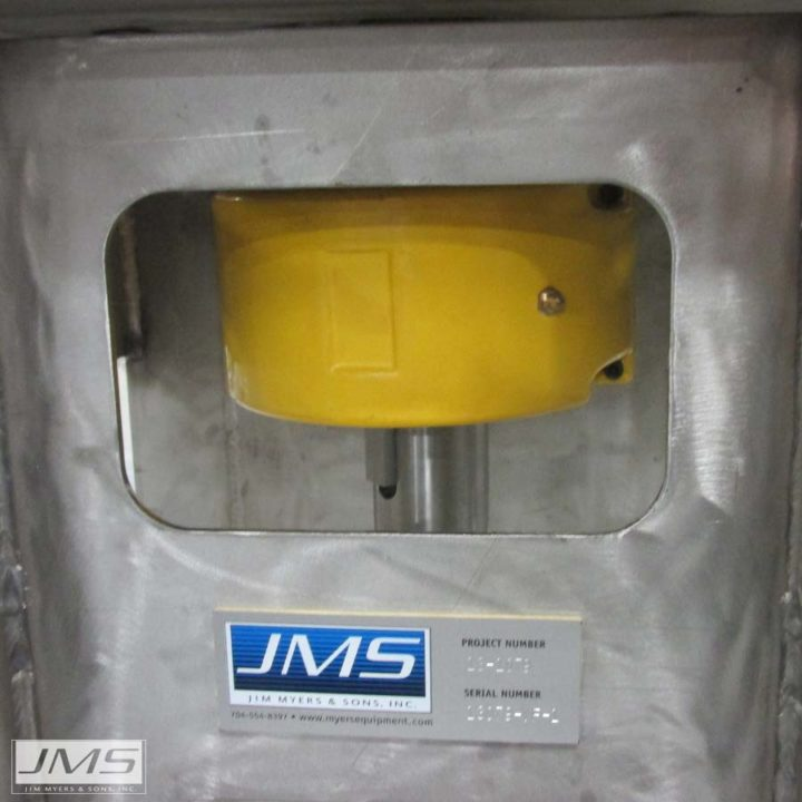 JMS Mega-FLOC (Vertical Paddle Wheel Flocculator) chain coupling