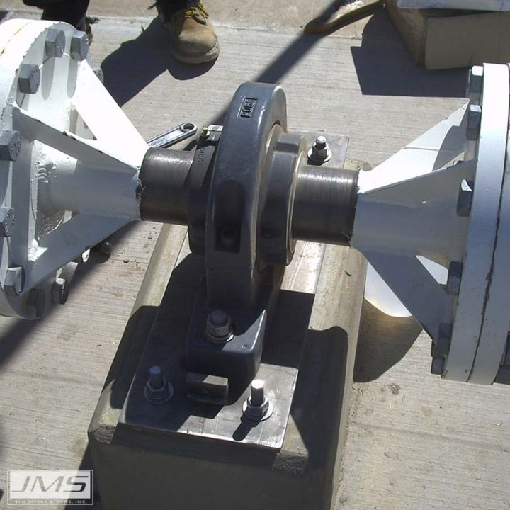 JMS Mega-FLOC (Walking Beam Flocculator) bearing assembly