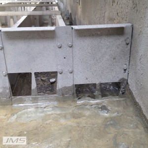 JMS Eco-AIr (Low Profile Cascade Aerator) Minimum Flow Control Gate