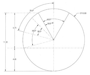 Scum Pipe Basics How to Size a Scum Pipe System sizing diagram