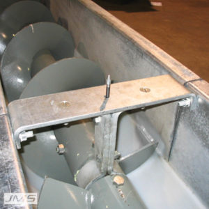 Typical Shafted Screw Conveyor Hanger Bearing