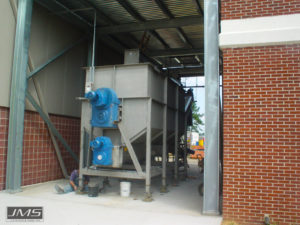 Biosolids Storage Selection bins