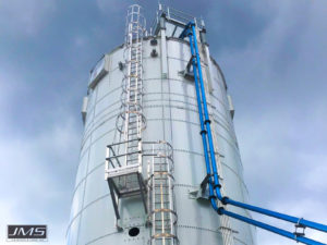 Biosolids Storage Selection silos
