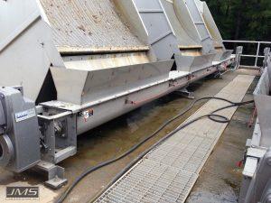 Screw Conveyors for Raw Screenings